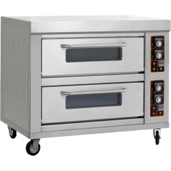 Double Deck - 4 Tray Oven