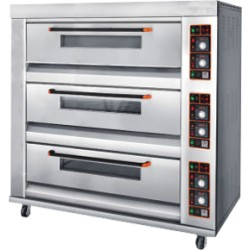 Triple Deck - 9 Tray Oven