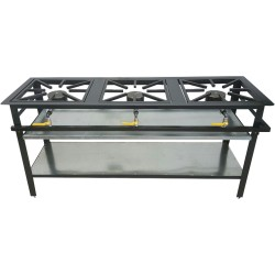 3 Burner Boiling Table